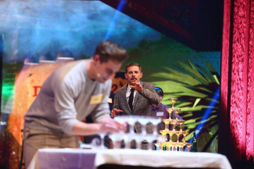Wird Klaas seinen Titel als Show-Master verteidigen können? - Bildquelle: Jens Hartmann ProSieben