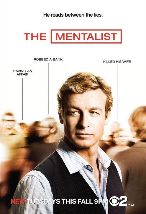 The Mentalist - Plakatmotiv - Bildquelle: Warner Bros. Television