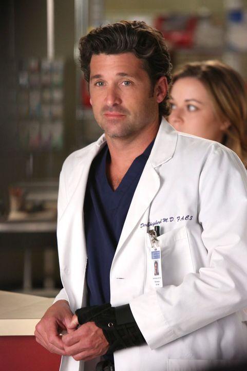 Rückblick: Derek (Patrick Dempsey) ahnt noch nicht, dass er bald von einem guten Freund Abschied nehmen muss ... - Bildquelle: ABC Studios