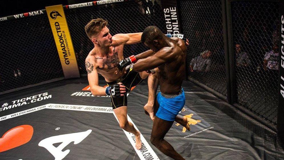 Bei We Love MMA geht es hart zur Sache. - Bildquelle: We Love MMA