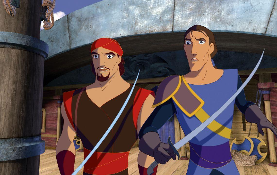 Das Buch des Friedens wurde gestohlen, und Sinbad wird verdächtigt. Der große Seefahrer hat nur noch eine Chance: Er muss das wertvolle Buch finde... - Bildquelle: DreamWorks SKG
