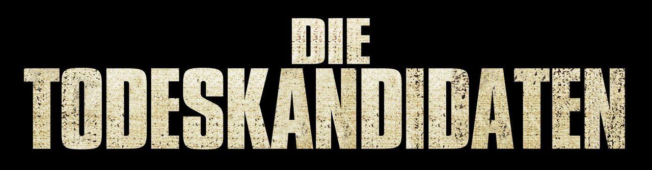 """""""Die Todeskandidaten"""" - Logo - Bildquelle: 2007 WWE Films, Inc. All Rights Reserved."""