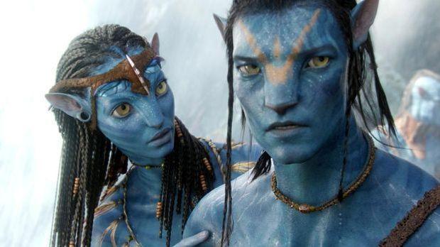 """Durch seine atemberaubenden 3-D-Effekte gelingt """"Avatar"""" der Einzug..."""