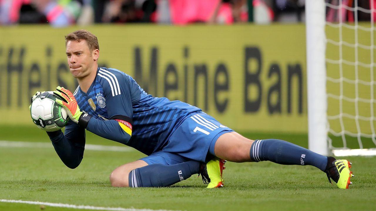So lief Manuel Neuers Comeback - Bildquelle: 2018 Getty Images
