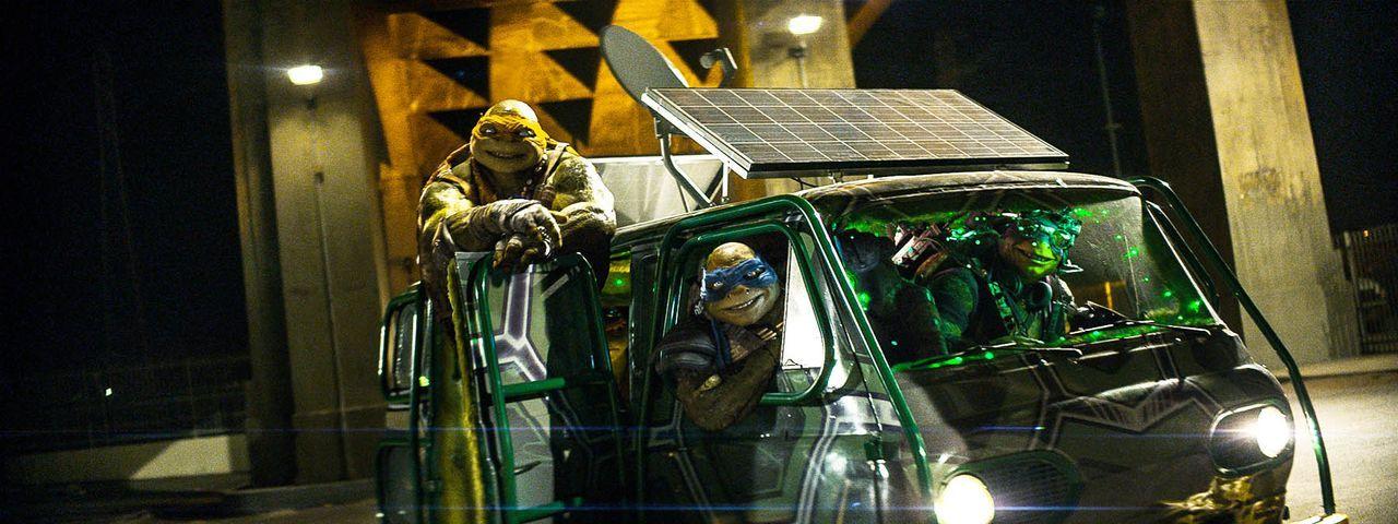 teenage-mutant-ninja-turtles-34-Paramount-Pictures - Bildquelle: Paramount Pictures