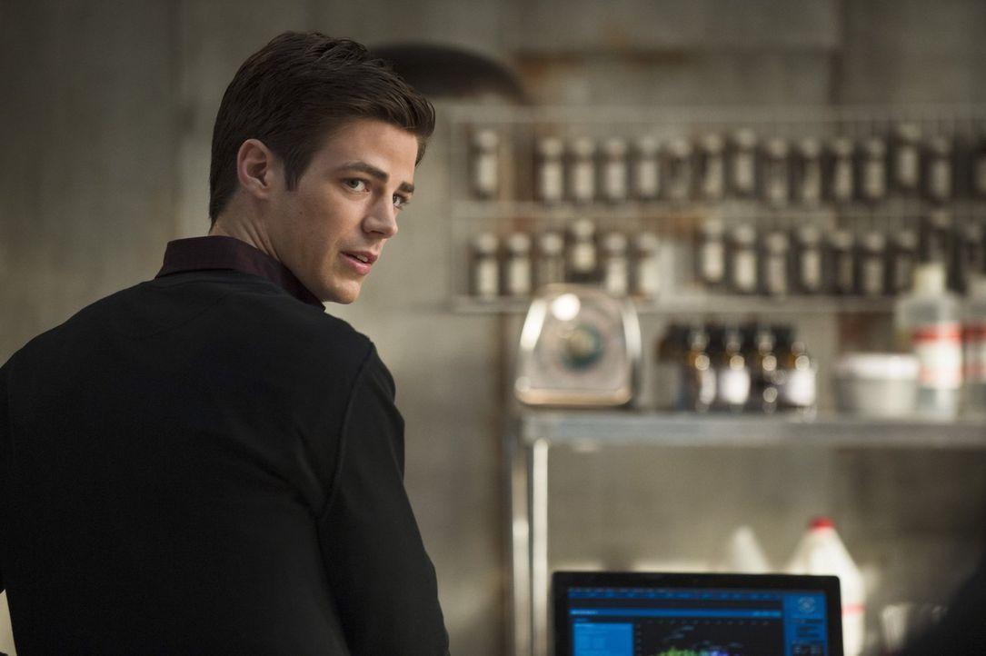 Nach und nach muss Barry (Grant Gustin) feststellen, dass seine neuen Kräfte auch Nebenwirkungen haben. Ihm wird immer häufiger schwindelig ... - Bildquelle: Warner Brothers.