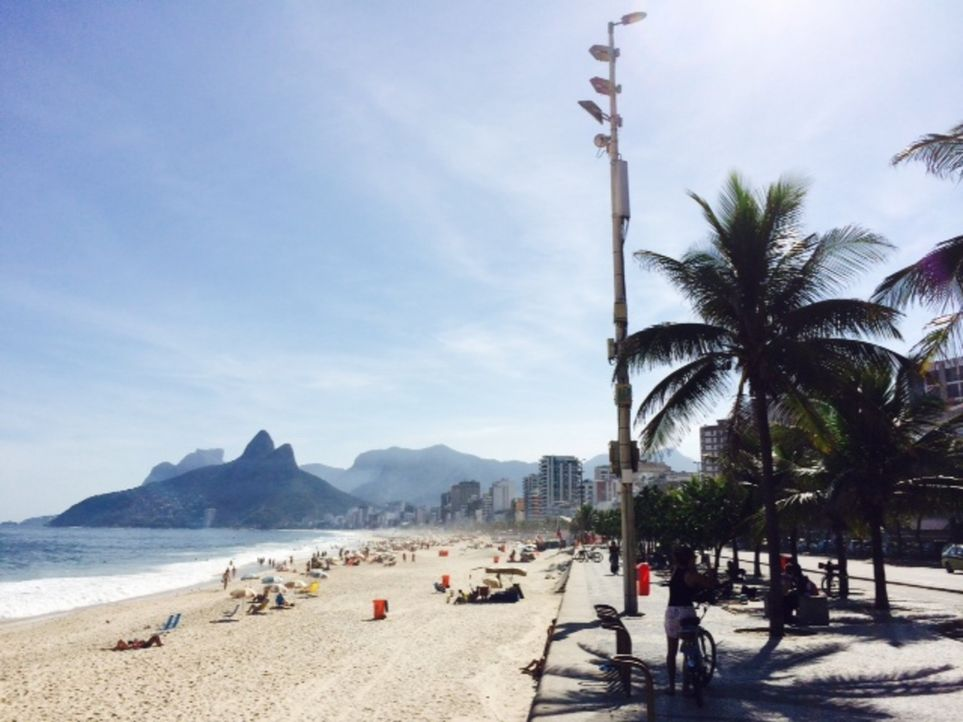 Wohnzimmer, Küche, Fitnesscenter, Schönheitssalon: All das sind die Strände von Rio de Janeiro für die Einwohner Rios, die Cariocas. Doch was ist am... - Bildquelle: ProSieben