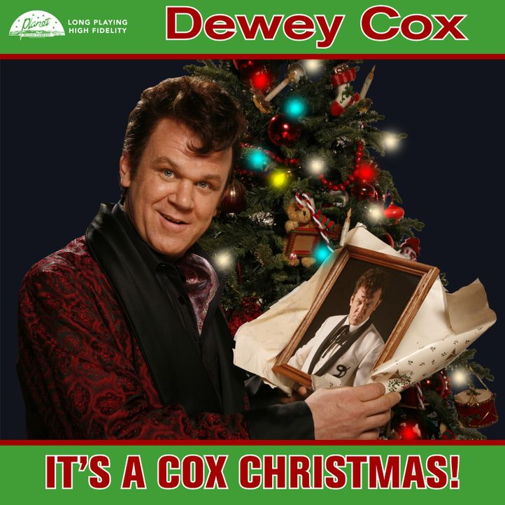 "Plattencover: Dewey Cox ""It's a cox christmas"" ... - Bildquelle: 2007 Columbia Pictures Industries, Inc.  and GH Three LLC. All rights reserved."