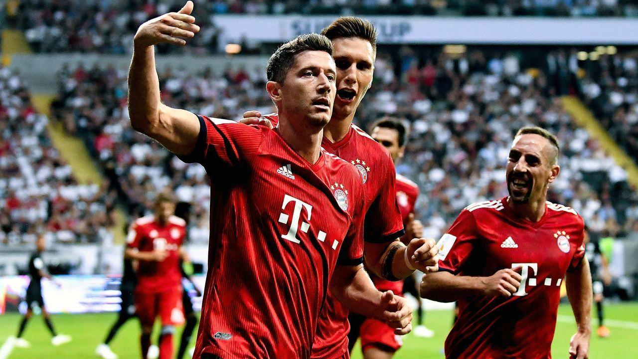 Supercup 2018 frankfurt vs bayern m nchen in der for Kindergeld 2018 hohe bayern