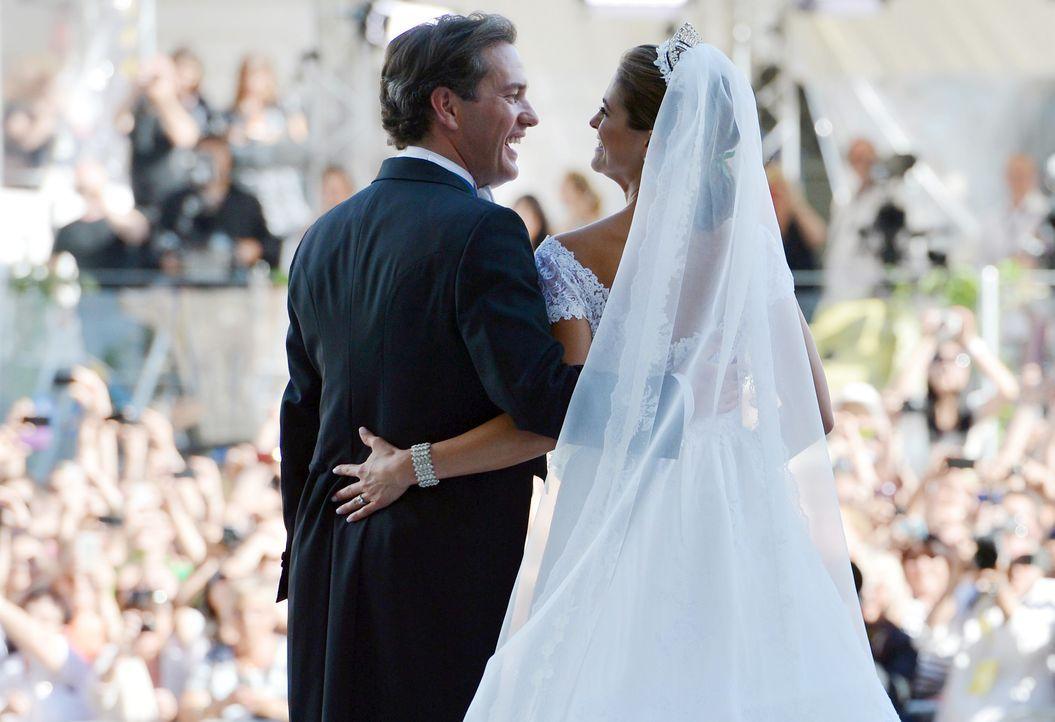 Die Heirat von Prinzessin Madeleine von Schweden und Chris O'Neill - Bildquelle: Verwendung weltweit, usage worldwide
