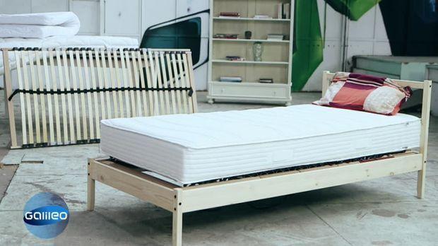 galileo video wie billig darf 39 s sein bett prosieben. Black Bedroom Furniture Sets. Home Design Ideas