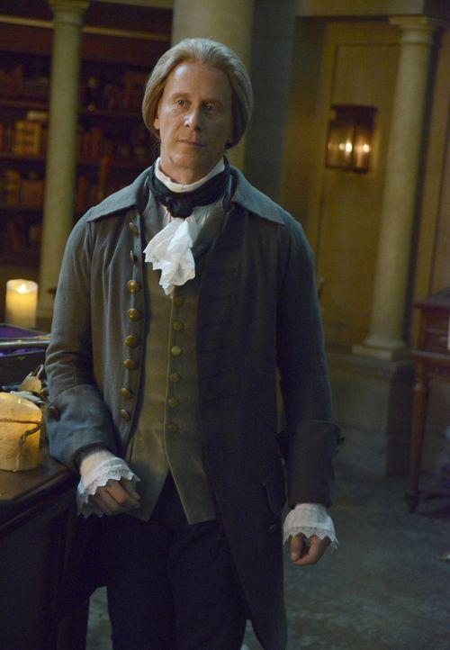Was hat Thomas Jefferson (Steven Weber) mit dem neusten Fall von Abbie und Ichabod zu tun? - Bildquelle: 2014 Fox and its related entities. All rights reserved