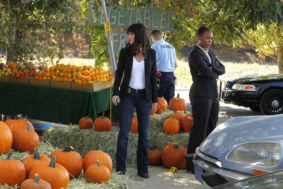 Nachdem Patrick an einem Obststand entführt wurde, macht sich das Team um Teresa (Robin Tunney, l.) und Madeleine (Aunjanue Ellis, r.) sofort auf d... - Bildquelle: Warner Bros. Television