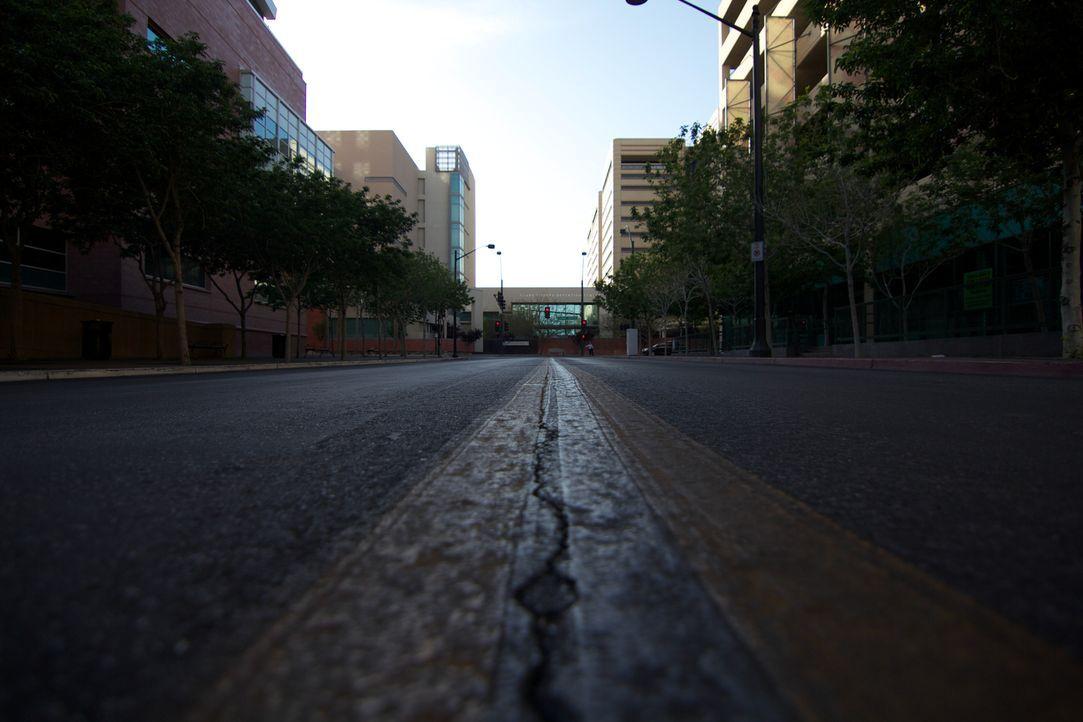 Die Straße zum Clark County Detention Center in Las Vegas ist für viele der Insassen eine Einbahnstarße, aus der sie nie mehr herausfinden ... - Bildquelle: James Peterson National Geographic Channels/ Part2 Pictures