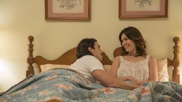 Jack (Milo Ventimiglia, l.) und Rebecca (Mandy Moore, r.) entschließen sich K...