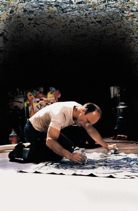 Zwischen Alkoholexzessen, Selbstzweifeln und künstlerischen Erfolgen gefangen: Jackson Pollock (Ed Harris) ... - Bildquelle: 2003 Sony Pictures Television International. All Rights Reserved.