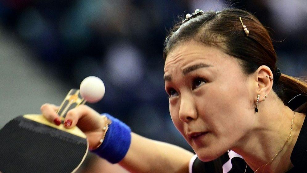 Shan Xiaona Punkte reichten nicht zum Sieg - Bildquelle: AFPSIDATTILA KISBENEDEK