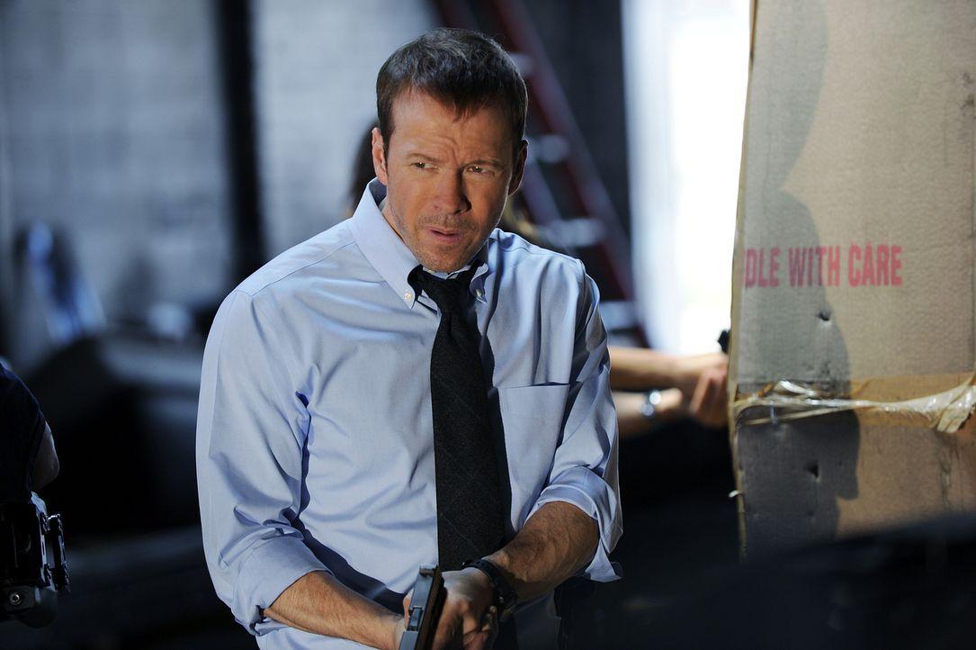 Mal wieder handelt Danny (Donnie Wahlberg) entgegen der Vorschriften. Ob das so eine gute Idee ist? - Bildquelle: 2011 CBS Broadcasting Inc. All Rights Reserved