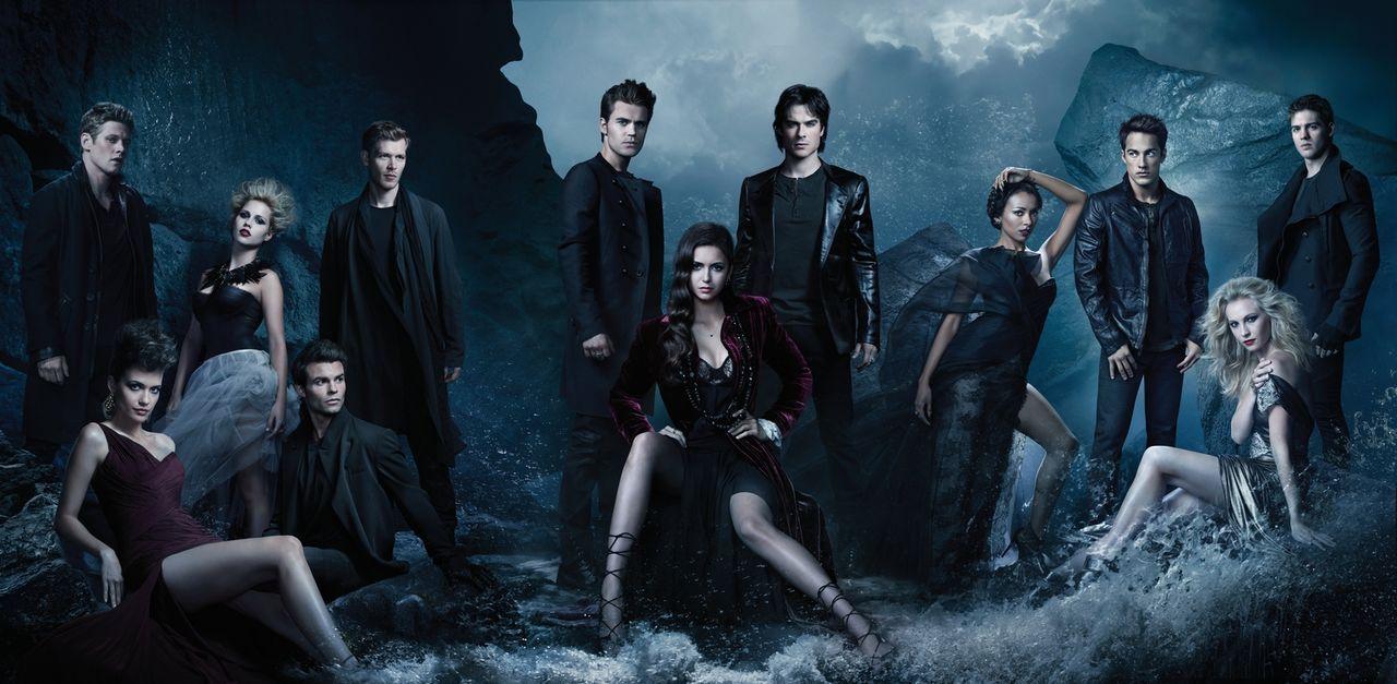 (4 .Staffel) - In einer Welt in der sie alle sowohl Gejagte, als auch Jäger sind, stehen Liebe, Vertrauen und Freundschaft an oberster Stelle: (v.l.... - Bildquelle: Warner Brothers