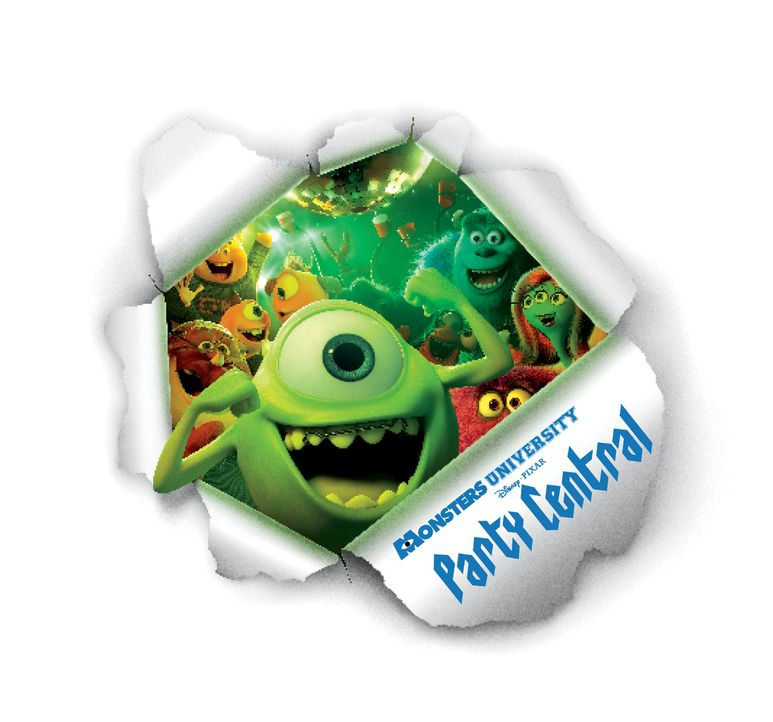 Die Monster Uni: Party Central - Artwork - Bildquelle: Disney/ Pixar