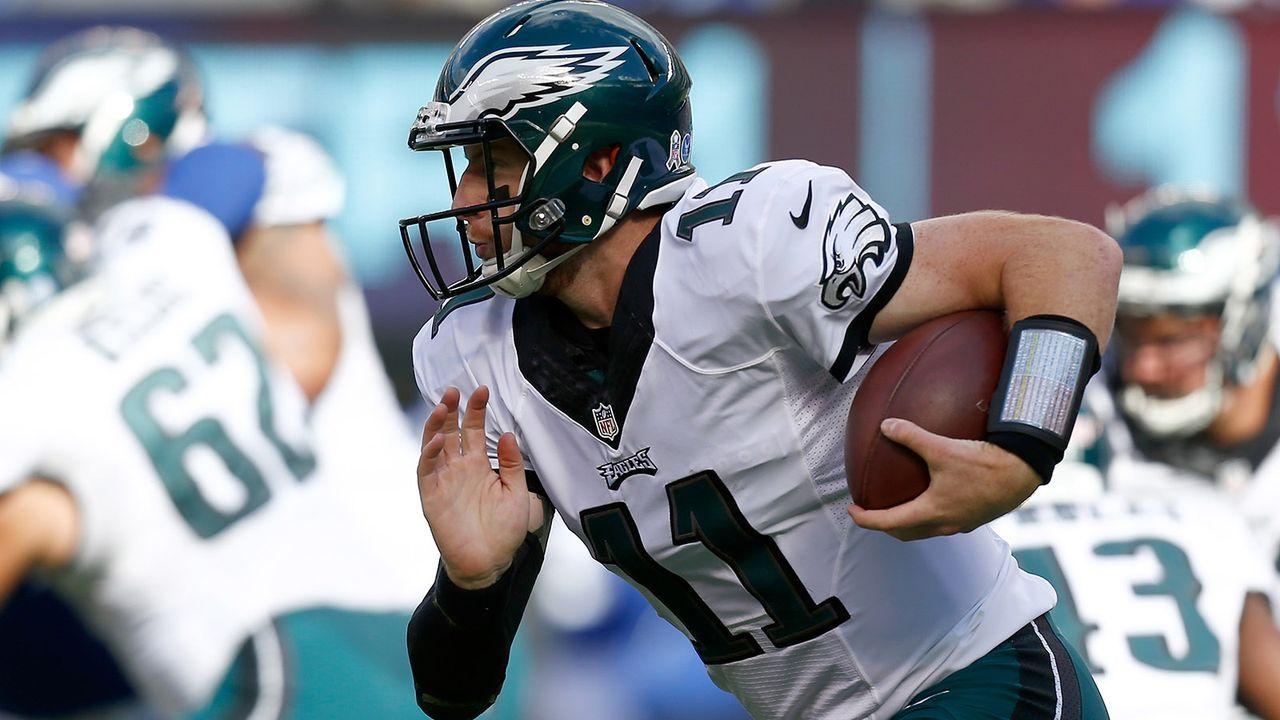 Platz 8: Carson Wentz (Philadelphia Eagles) - Bildquelle: 2016 Getty Images