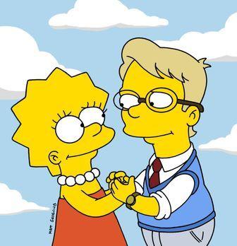Die Simpsons - Lisa (l.) hat sich in einen ihrer Mitschüler verliebt. - Bildq...