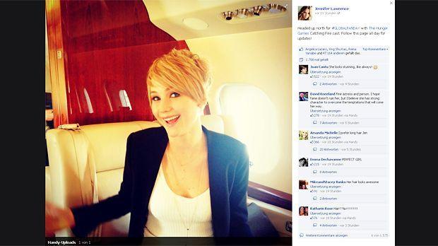 Jennifer-Lawrence-13-11-06-Facebook - Bildquelle: Facebook Jennifer Lawrence