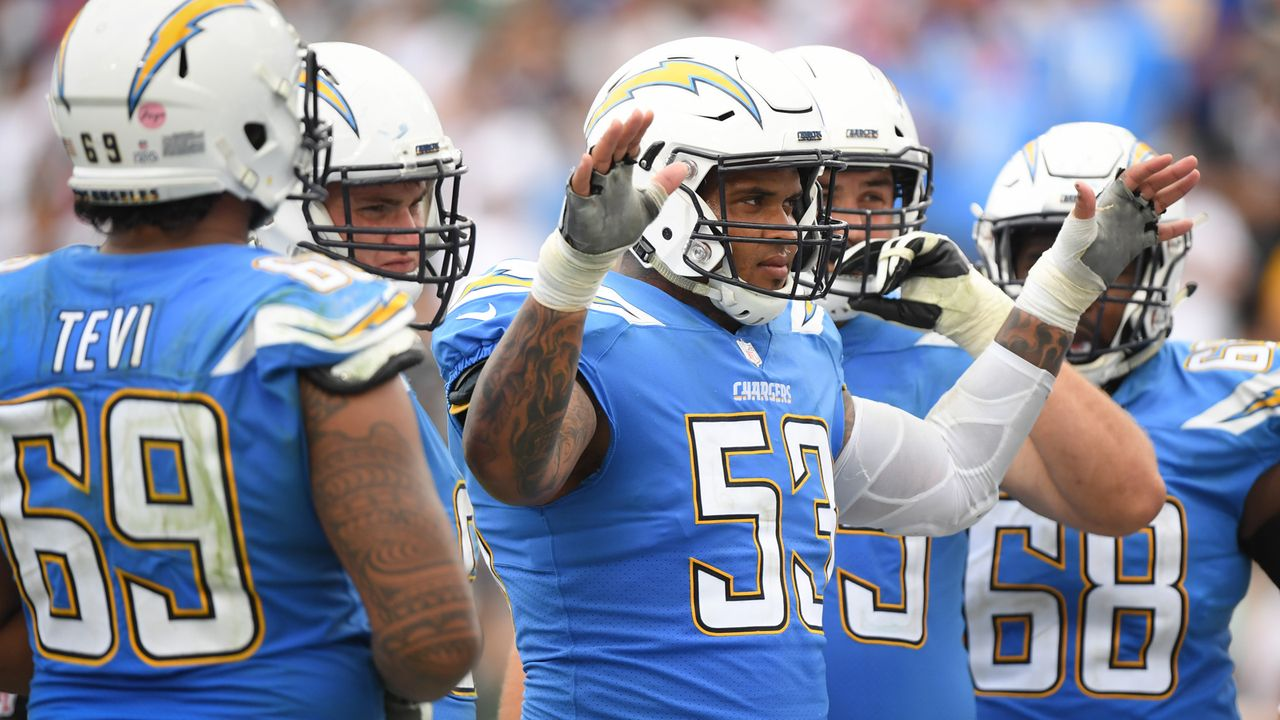 Draft Pick 28: Los Angeles Chargers - Bildquelle: 2018 Getty Images