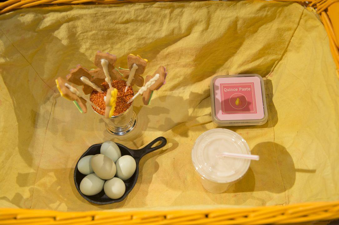 Kekse, Quittenmarmelade, Eier und Horchata gilt es in der Dessert-Runde in einen Gaumenschmaus zu verarbeiten. Wer wird es in die letzte Runde schaf... - Bildquelle: Scott Gries 2015, Television Food Network, G.P. All Rights Reserved