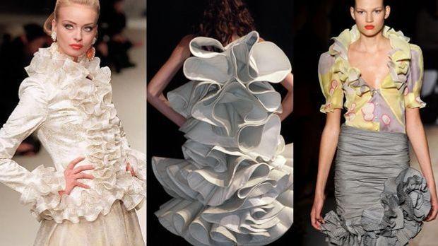 Mode-Trend Volants: Verspielte Eleganz