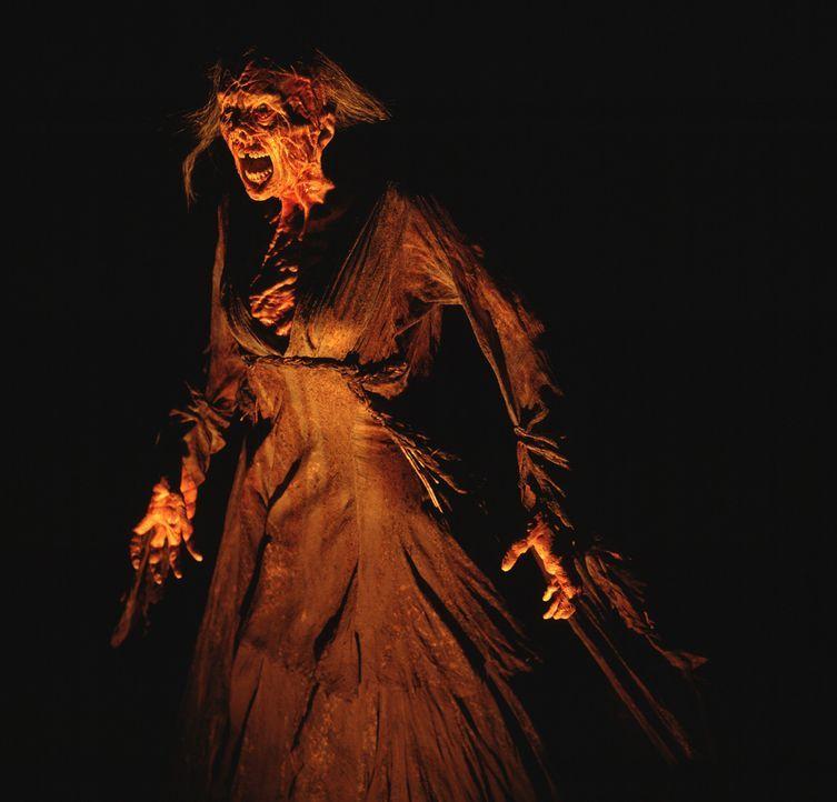 Ein rachsüchtiger Geist schwebt über dem Städtchen Darkness Falls, stets bereit, sich auf jeden, der sie im Dunkeln sieht, herabzustürzen ... - Bildquelle: 2004 Sony Pictures Television International. All Rights Reserved.