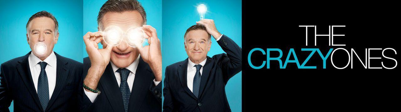 (1. Staffel) - The Crazy Ones: Als Inhaber einer Werbeagentur kann sich Simon Roberts (Robin Williams) jegliche Allüren leisten ... - Bildquelle: 2013 Twentieth Century Fox Film Corporation. All rights reserved.