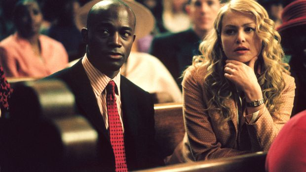 Können Jackson (Taye Diggs, l.) und Nelle (Portia de Rossi, r.) zwei streiten...