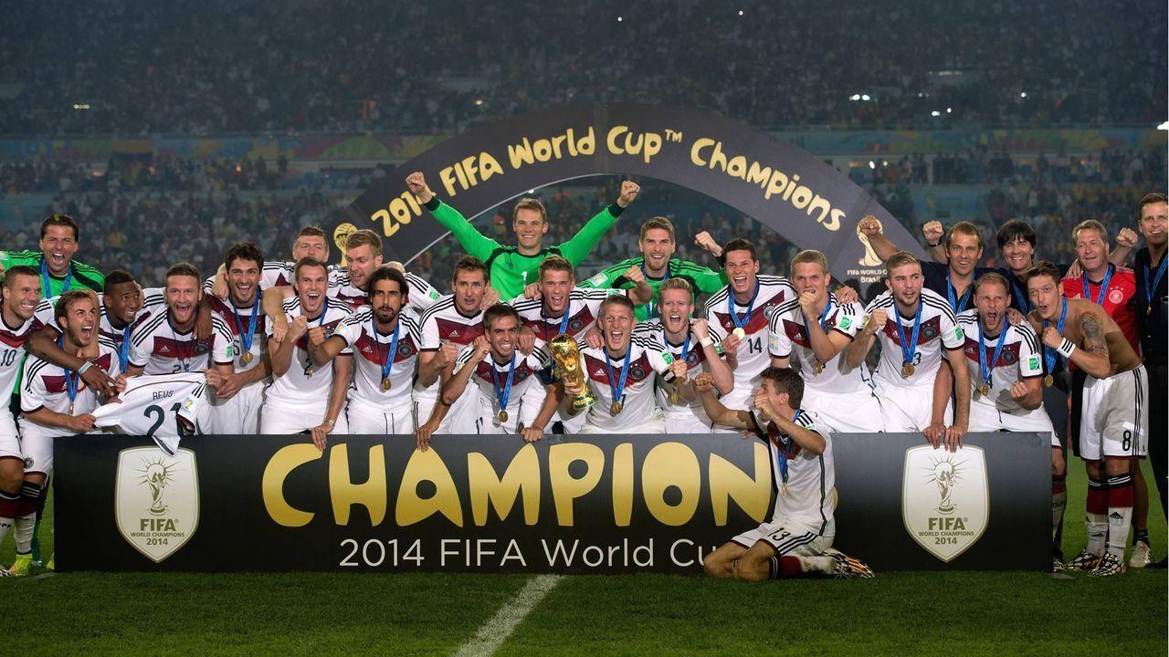 Weltmeister 2014: Deutschland - Bildquelle: Imago