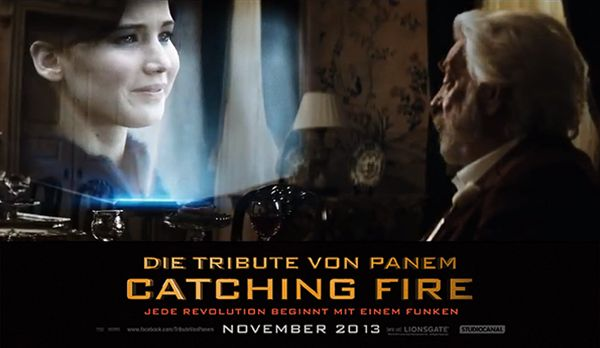 Jennifer Lawrence im Catching Fire Teaser - Bildquelle: Studiocanal
