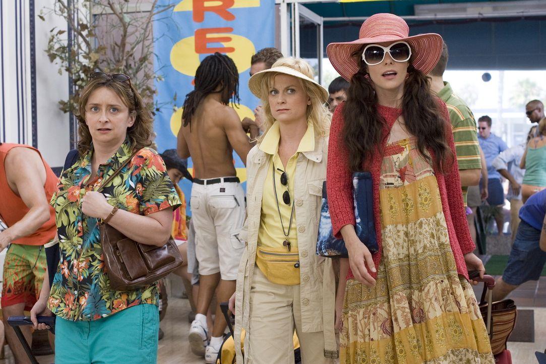 Gayle (Poehler, M.), Becky (Parker Posey, r.) und Judi (Dratch, l.), alle Mitte dreißig, haben schon immer davon geträumt, es mal ordentlich krachen... - Bildquelle: Warner Bros.