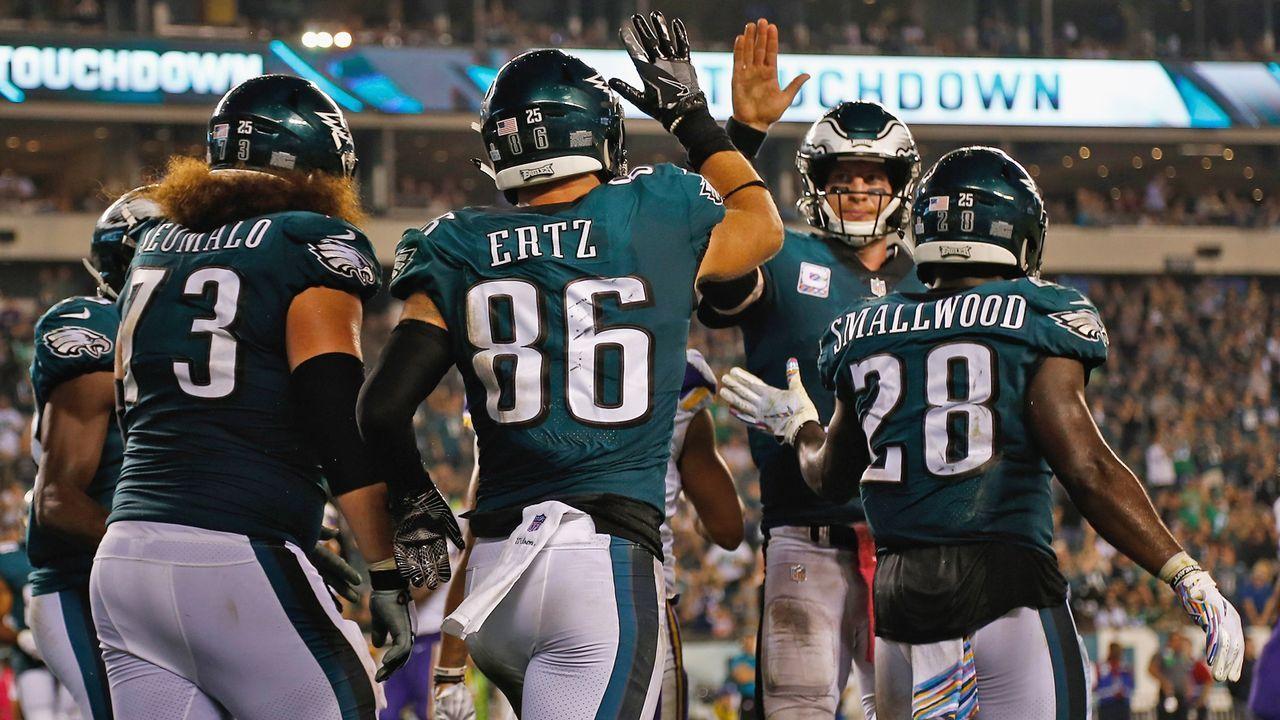 Draft Pick 25: Philadelphia Eagles - Bildquelle: 2018 Getty Images