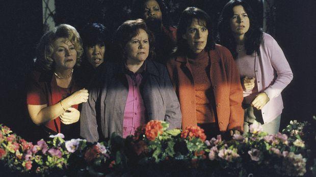 Lois (Jane Kaczmarek, 2.v.r.) und ihre betrunkenen Freundinnen aus dem Buchcl...