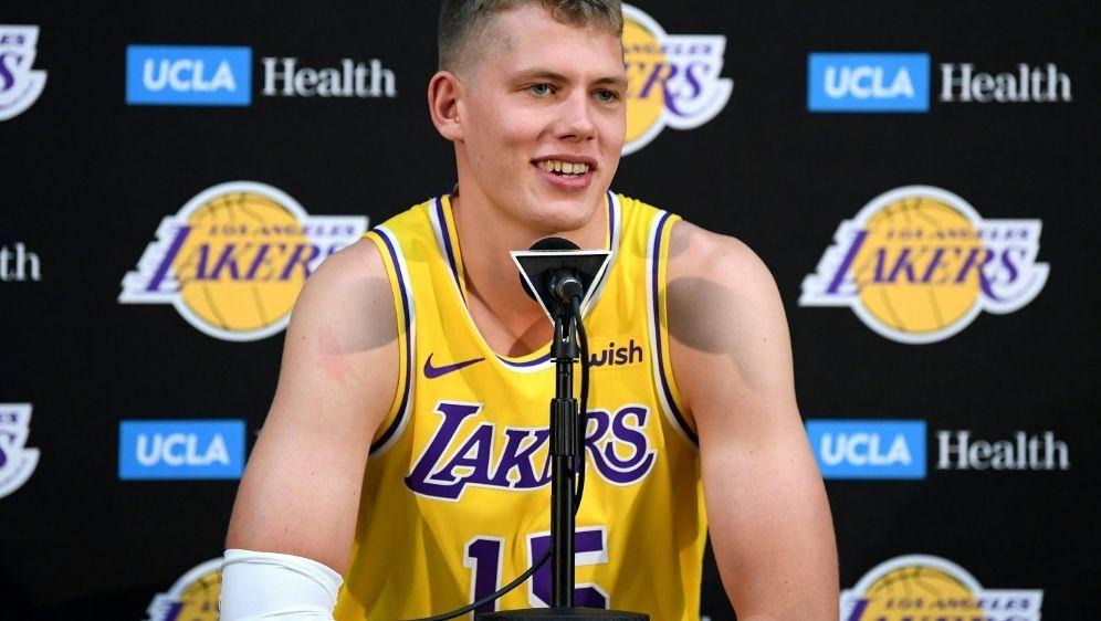 Heftige Niederlage für Lakers um Moritz Wagner - Bildquelle: GETTY AFPSIDHarry How