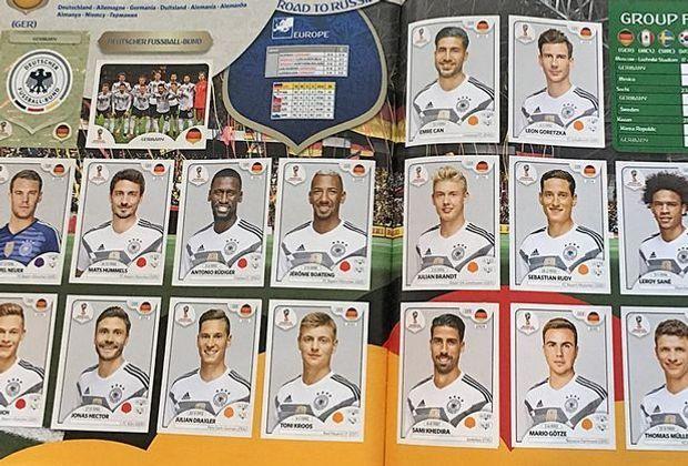 WM 2018: Das Panini DFB-Team