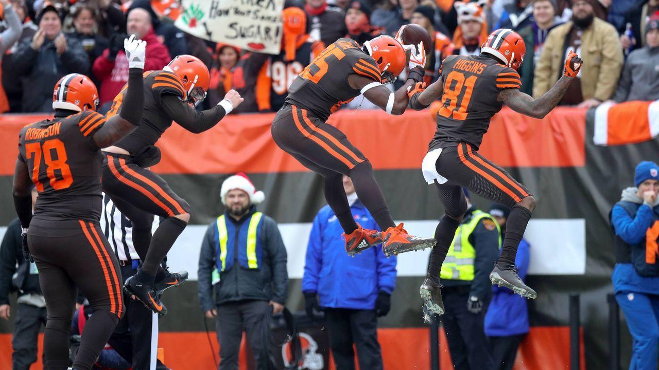 Gewinner: Cleveland Browns - Bildquelle: imago/Icon SMI