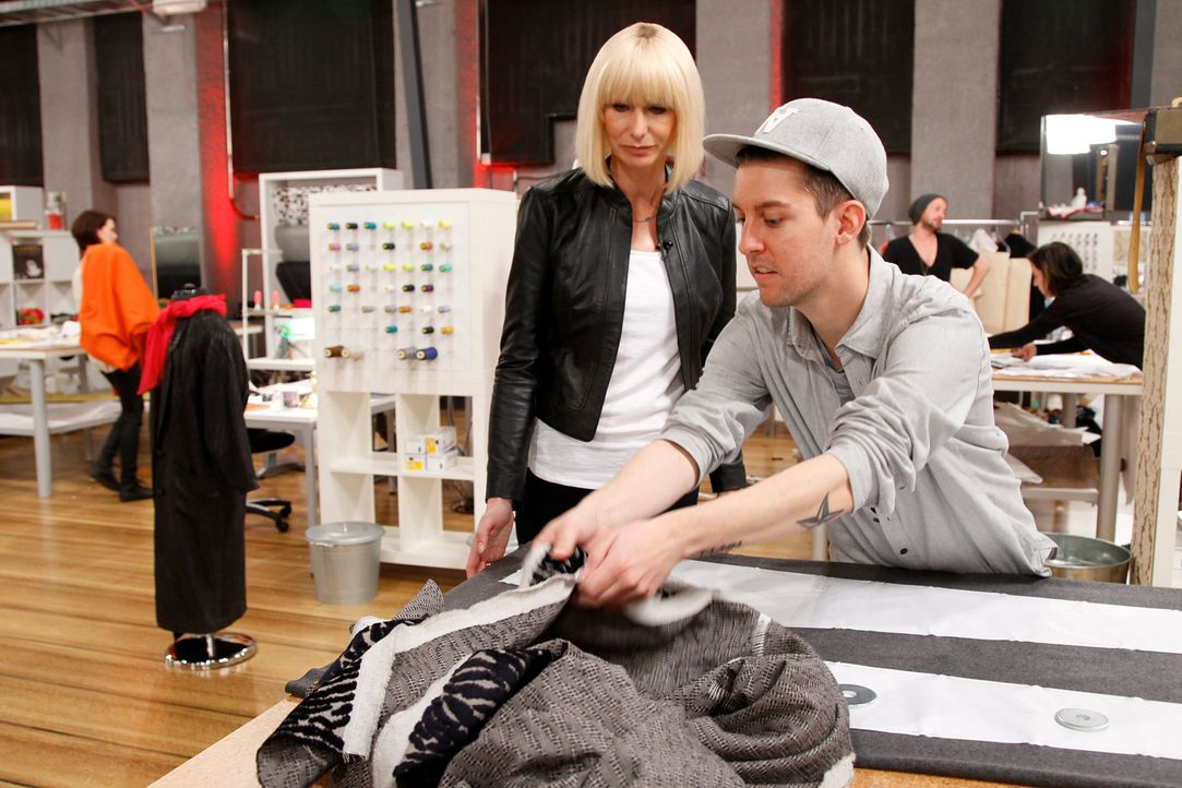 Fashion-Hero-Epi03-Atelier-36-Pro7-Richard-Huebner - Bildquelle: Richard Hübner / Pro 7