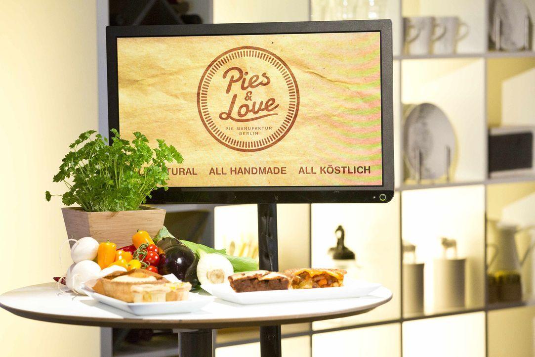 """Ist das """"Pies and Love"""" von Tammo, Robin und Manuel eine Investition wert? - Bildquelle: Richard Hübner kabel eins"""