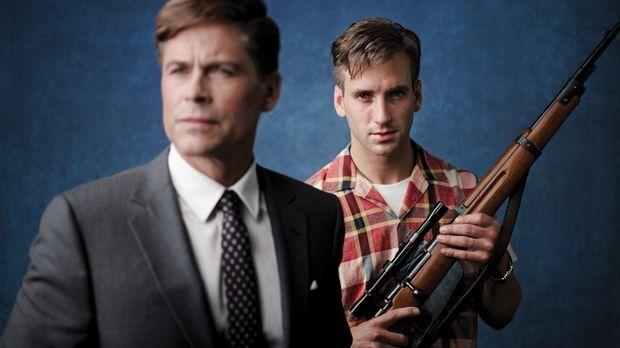 Mörderischer Plan: Lee Harvey Oswald (Will Rothhaar, r.) erschießt President...