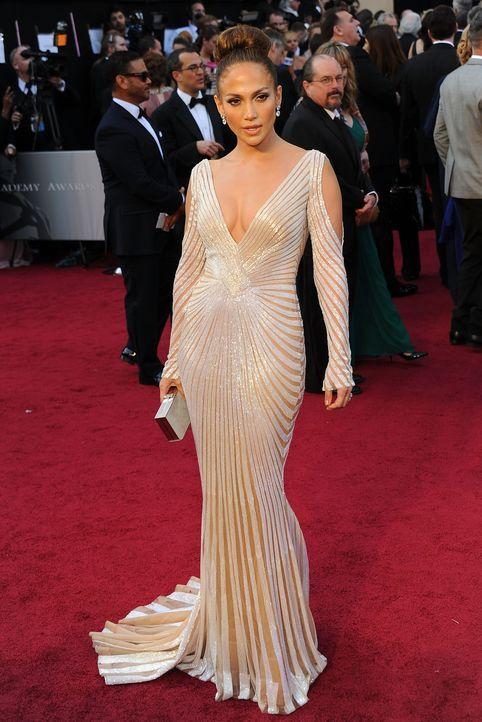 Jennifer Lopez bei den Oscars 2012 - Bildquelle: AFP