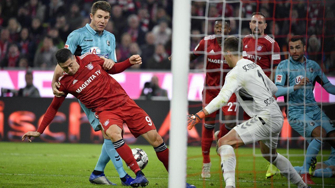 FC Bayern vs. SC Freiburg: Die FCB-Stars in der Einzelkritik