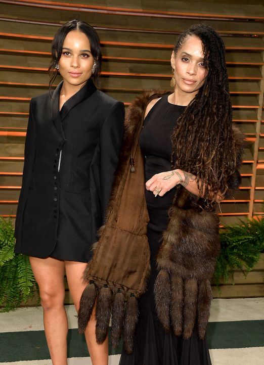 oscars-Zoe-Kravitz-Lisa-Bonet-140302-getty-AFP - Bildquelle: getty-AFP