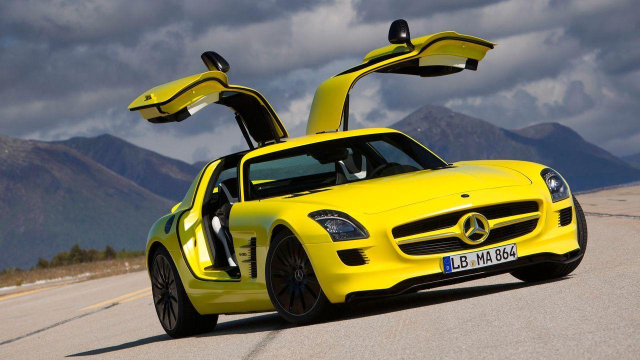 Mercedes SLS AMG E-Cell - Bildquelle: Mercedes