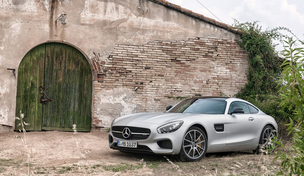 Mercedes AMG GT (5) - Bildquelle: press photo, do not use for advertising purposes
