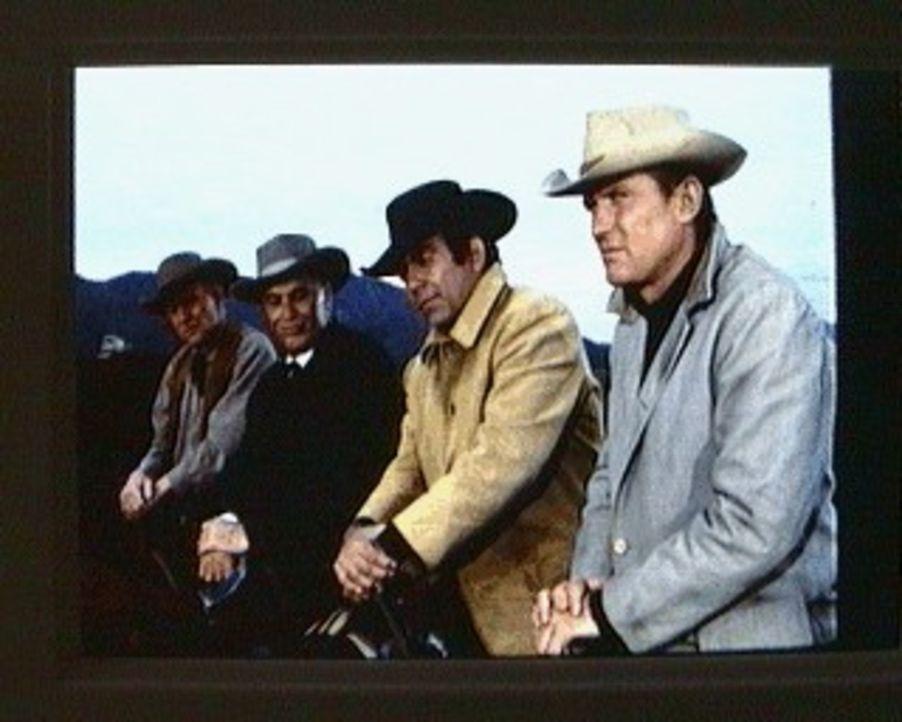 In Virginia City hat der Viehdiebstahl plötzlich zugenommen. Ein bekannter Weidedetektiv wird angeheuert. Er geht radikal gegen die Diebe vor. Der S... - Bildquelle: Paramount Pictures